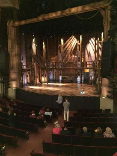 PrivateBank Theatre, section: Dress Circle R, row: A, seat: 6