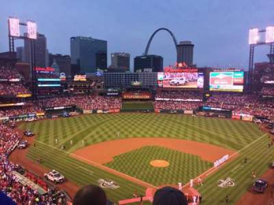 Busch Stadium, section: 351, row: 2, seat: 11