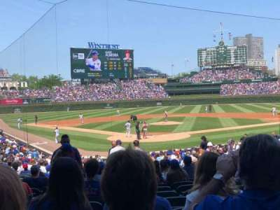 Wrigley Field, section: 122, row: 12