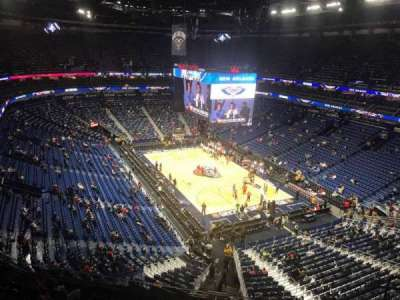 Smoothie King Center, section: 327, row: 9, seat: 6