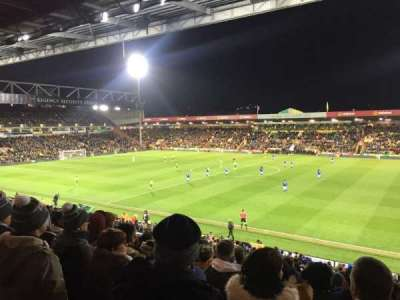 Carrow Road section South Sand