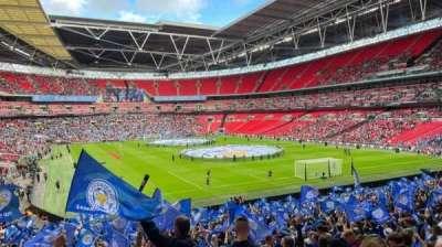 Wembley Stadium section 136