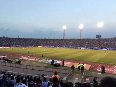 Estadio Tecnológico, section: 823, row: 18, seat: 23