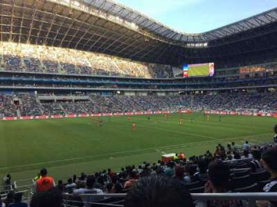 Estadio BBVA Bancomer, section: 101, row: P, seat: 1