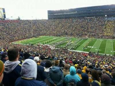 Michigan Stadium section 43