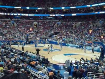 Wells Fargo Center section 105