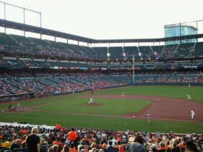 Oriole Park at Camden Yards section 17