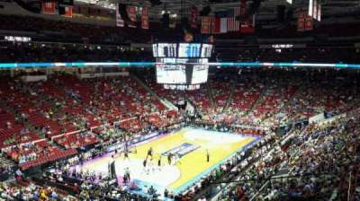 PNC Arena, section: 209, row: C, seat: 2