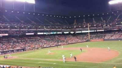 Oriole Park at Camden Yards section 15