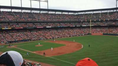 Oriole Park at Camden Yards section 210