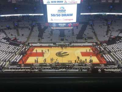 Air Canada Centre, section: 321, row: 10, seat: 13