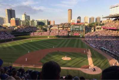 Wrigley Field, section: 416, row: 10, seat: 4