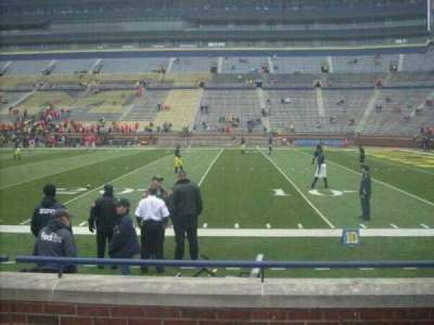 Michigan Stadium section 20
