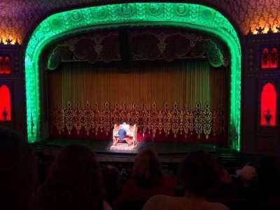 Tennessee Theatre, section: Balcony Right Center, row: EE, seat: 14