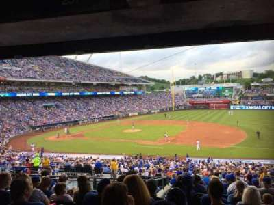 Kauffman Stadium, section: 237, row: P, seat: 8