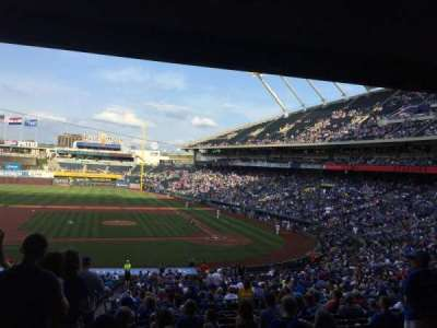 Kauffman Stadium, section: 223, row: NN, seat: 1