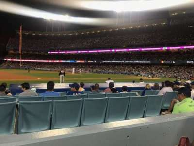 Dodger Stadium, section: 25FD, row: B, seat: 8