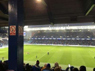 Ibrox Park, section: MRD, row: A, seat: 0120