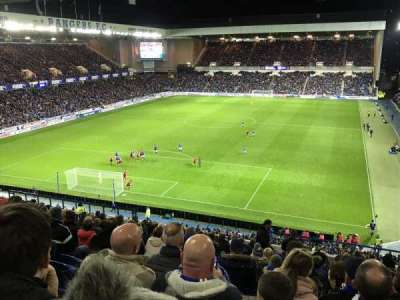 Ibrox Park, section: BR1, row: U, seat: 20