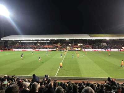 Pittodrie Stadium, section: South Stand Area T, row: T, seat: 127