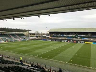 Home Park, section: Lyndhurst Stand Block 11, row: Y, seat: 300