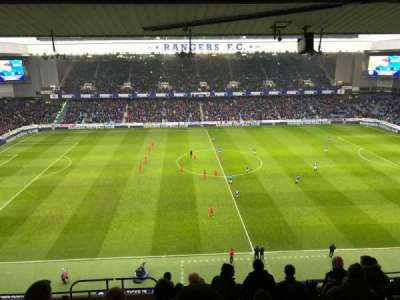 Ibrox Park, section: CD4, row: L, seat: 0181