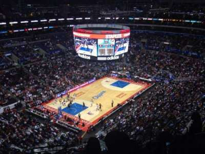 Staples Center, section: 323, row: 10, seat: 8