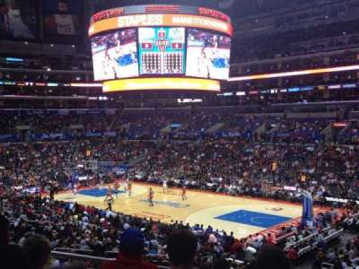 Staples Center, section: PR2, row: 7, seat: 3