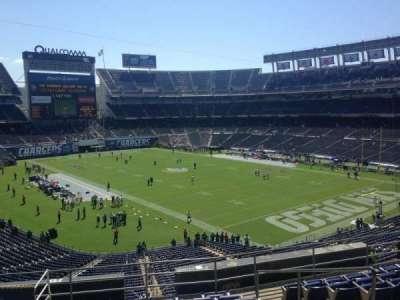 Qualcomm Stadium section Loge 15