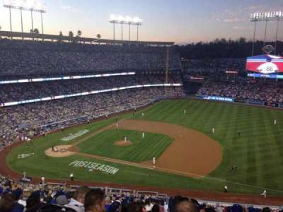 DODGER STADIUM section 24RS
