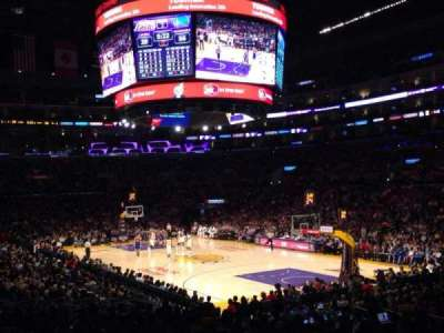 Staples Center, section: 108, row: 20, seat: 10
