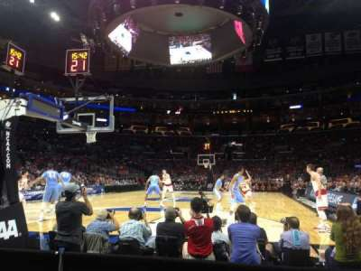 Staples Center, section: 106, row: C, seat: 3