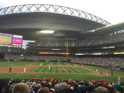 Safeco Field, section: 137, row: 25, seat: 9