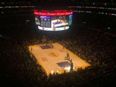 Staples Center section 329