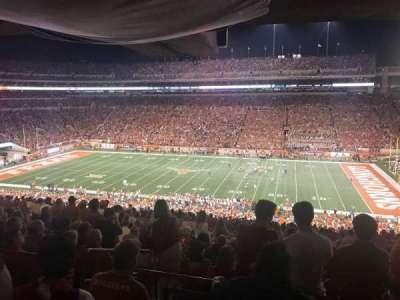 Texas Memorial Stadium, section: 3, row: 66, seat: 4