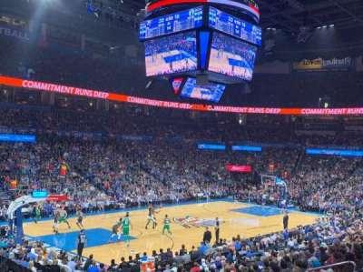 Chesapeake Energy Arena, section: 118, row: S, seat: 13