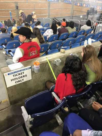 NRG Stadium, section: 123, row: A, seat: 19