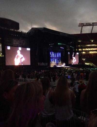 Raymond James Stadium, section: 134, row: D, seat: 24