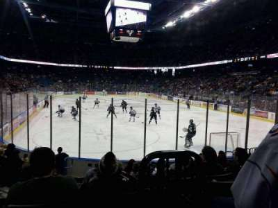 Citizens Business Bank Arena, section: 122, row: J, seat: 10