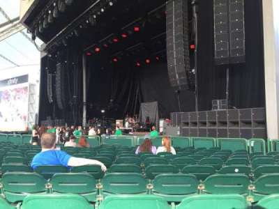 Cynthia Woods Mitchell Pavilion, section: 103, row: N, seat: 23