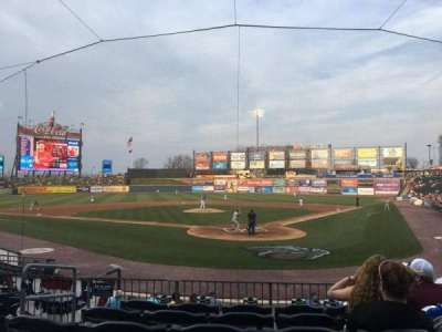Coca-Cola Park, section: 113, row: P, seat: 8