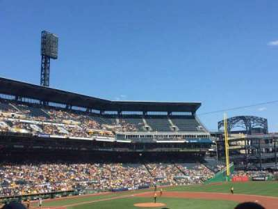 PNC Park, section: 108, row: X, seat: 14
