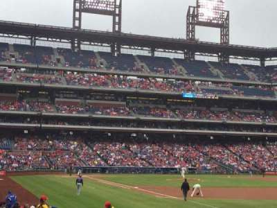 Citizens Bank Park, section: 110, row: 19, seat: 3