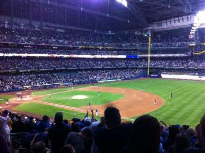Miller Park, section: 209, row: 16, seat: 8