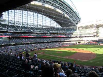 Miller Park, section: 211, row: 16, seat: 14