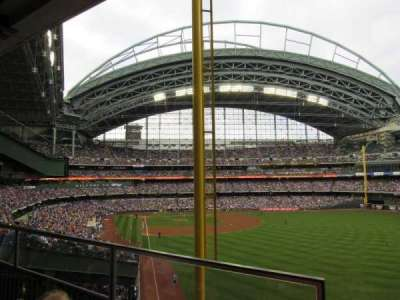 Miller Park section Between 206 and 205