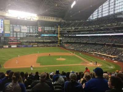 Miller Park, section: 224, row: 15, seat: 6