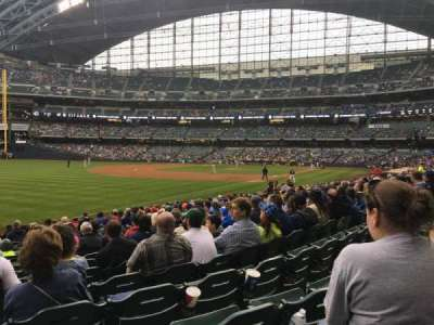 Miller Park, section: 128, row: 18, seat: 13