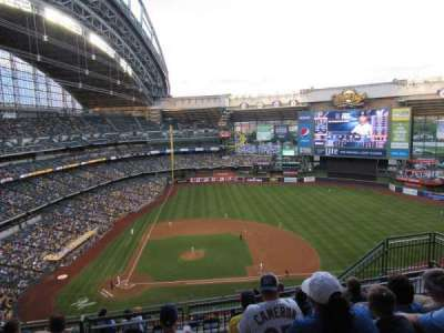 Miller Park, section: 416, row: 13, seat: 10