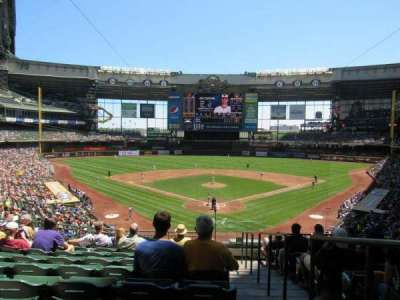 Miller Park, section: 219, row: 10, seat: 1